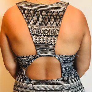 Gray T-shirt Dress Open Back #HotGirlSummer ☀️